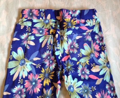pantalon legging floreado!