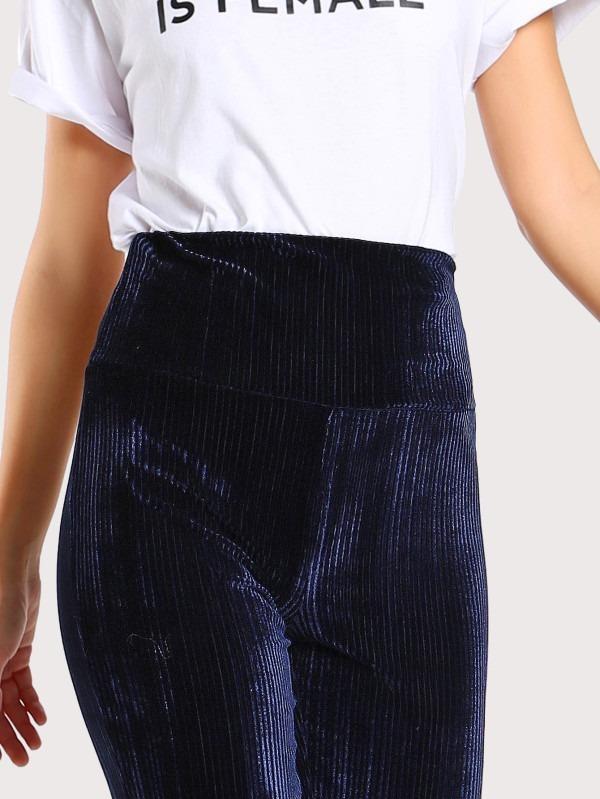 b27b50ecb9 Pantalón Leggins Azul Oscuro De Terciopelo Para Dama -   499.00 en ...