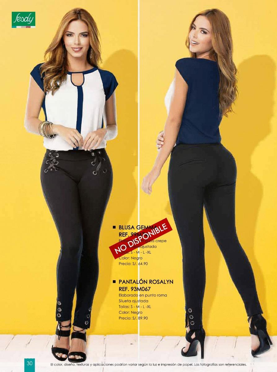 ebd4c01163 Pantalon Leggins Jeans Catalogo Fesdy Ropa De Moda Mujer - S  1