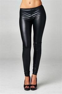 pantalon leggins tipo cuero de moda moldea figura comodo