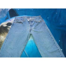 Pantalon Levis 501 Caballero Original Blue Jean 34x30