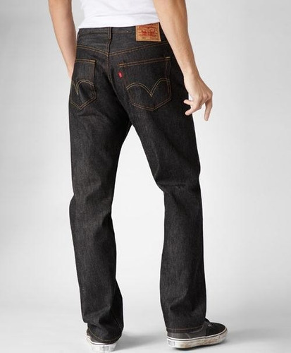 pantalon levi's 501 iconic black