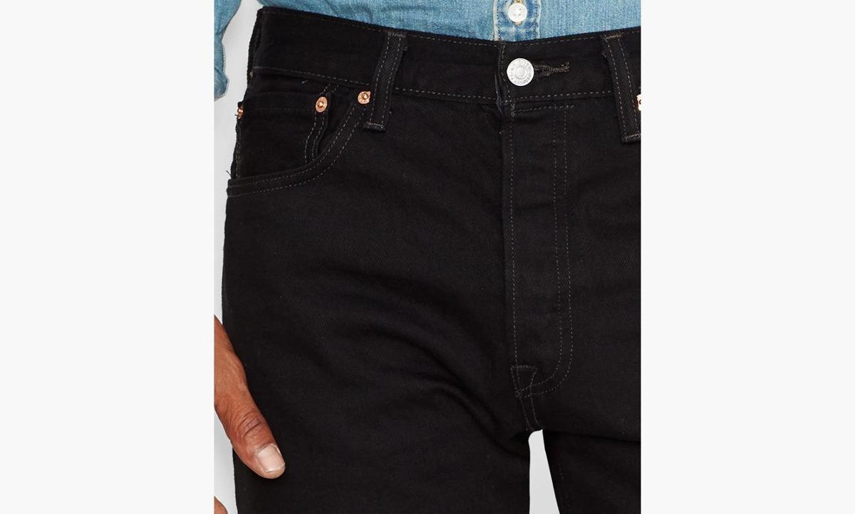pantalon levi 39 s 501 negro en mercado libre. Black Bedroom Furniture Sets. Home Design Ideas