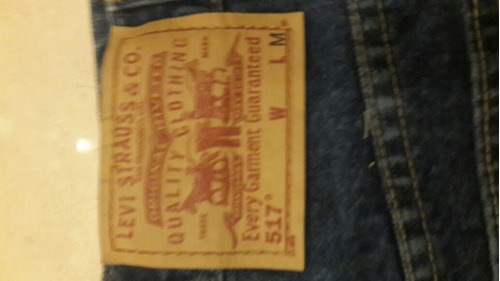 pantalon levis dama original 517 talla 7 boot cut