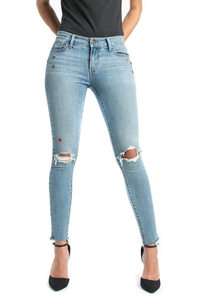 dfad5528a5f pantalón levi s® mujer 710 super skinny favorite blue jean 1. Cargando zoom.