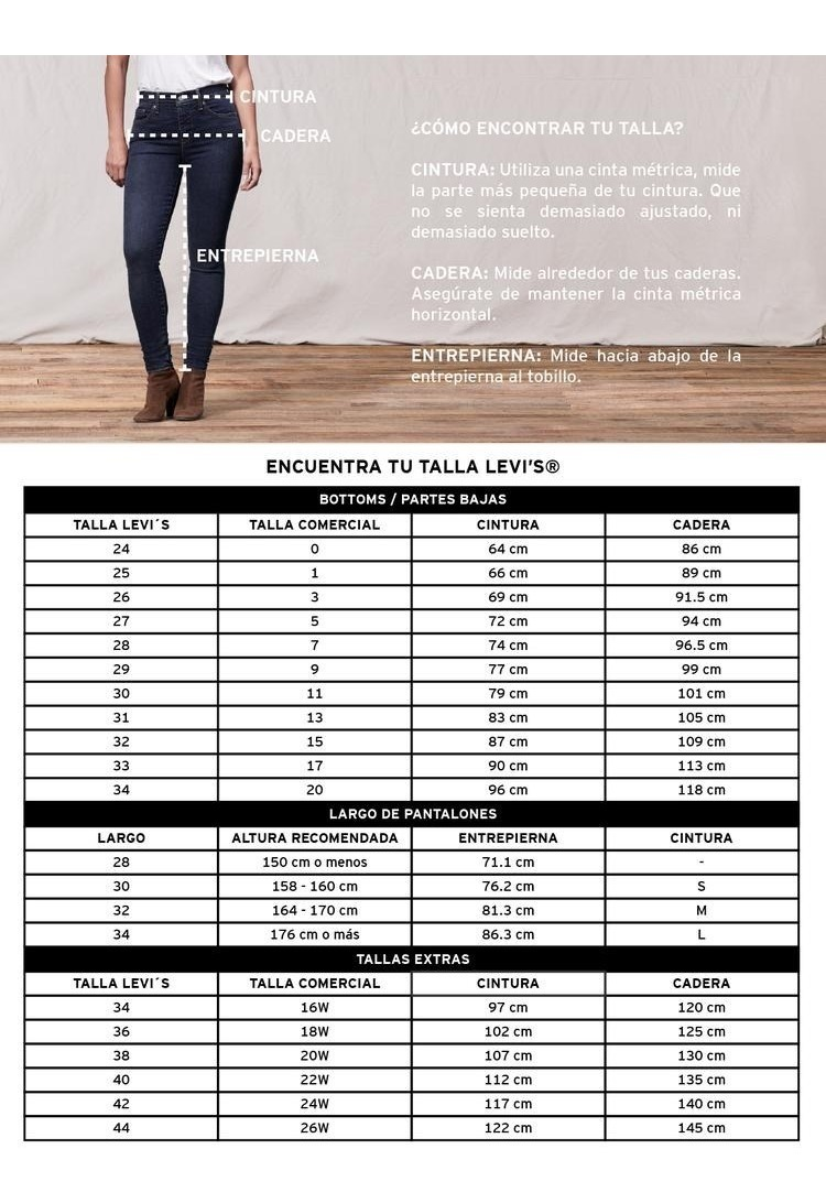tienda de liquidación bff00 41af7 Pantalón Levi's® Mujer 720 High Rise Super Skinny Azul 5279