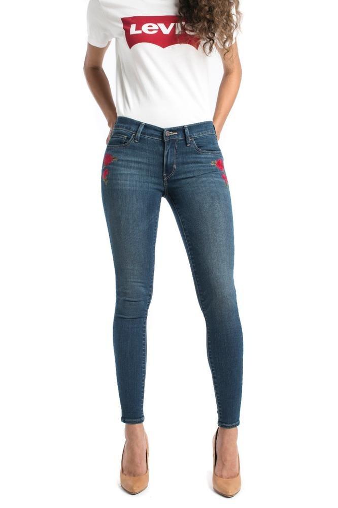 d03921e5cc3 Pantalón Levi s® Mujer 710 Super Skinny We Find Blue 17778-0 ...