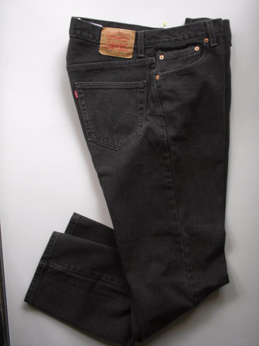 mejor online nuevo estilo de vida Precio de fábrica 2019 Pantalon Levis Negro Original Made In Usa Talla 36-32