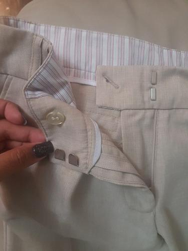 pantalon lino dama talla 1x o s importado ropa mujer kaki