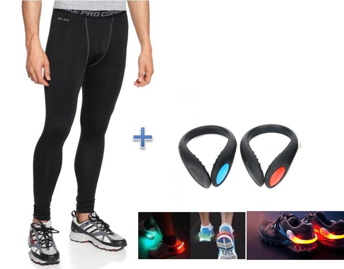 Pantalon Lycra Hombre Nike Pro Combat + 2 Luces Para Tennis ... d389e44432b6