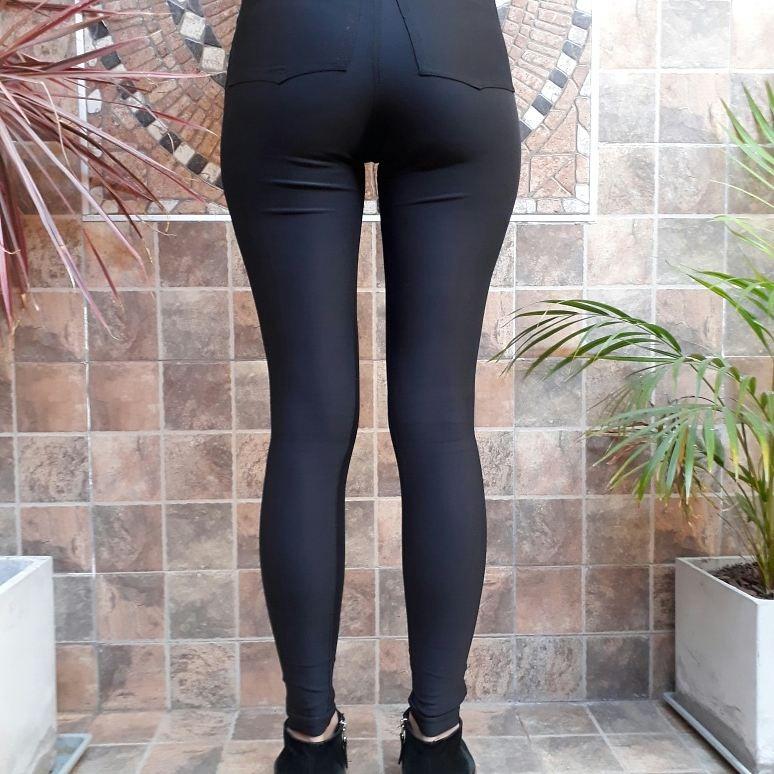 estilo popular comprar baratas última moda Tiro Lycra Pantalón Alto Chupin Mujer shrCBotQdx