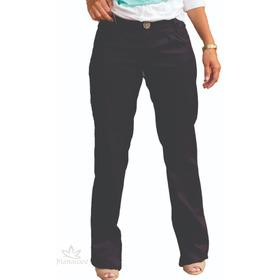 Pantalon Manawee Mujer Jeans Elastizado Recto