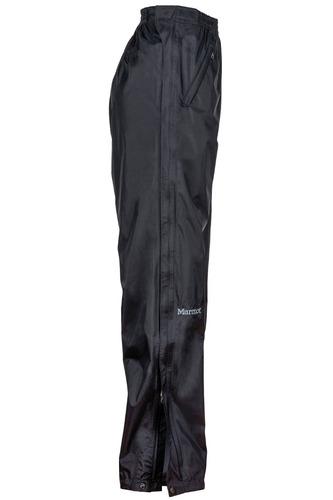 pantalón marmot mujer precip full zip pant short