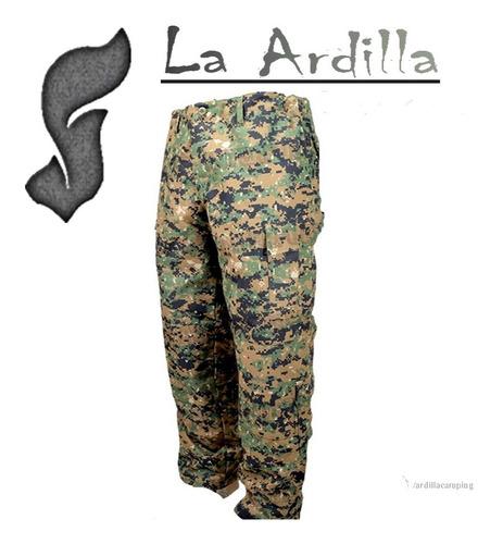 pantalón marpat táctico camuflado digital corte americano ac