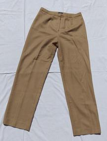 Marron Y Mujer Algodon Lino 44 Marca Talle Pantalon Giorno 5j4RAL