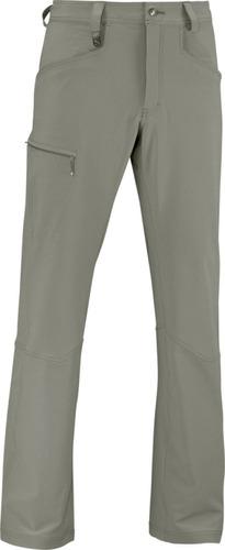 pantalon  masculino salomon- mountain pant m marron claro