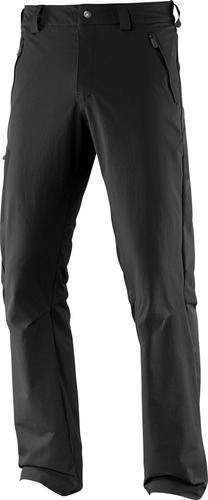 pantalon  masculino salomon -  wayfarer winter pant m negro