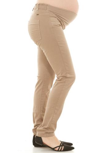 pantalón materno 1048433. camel: marca clío ropa materna