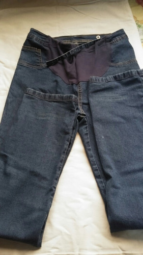 pantalon materno embarazada jeans talla 32