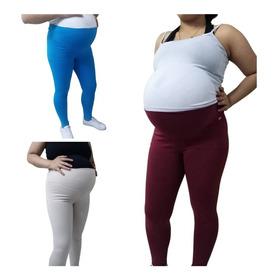 Pantalón Materno Tipo Leggins X 3