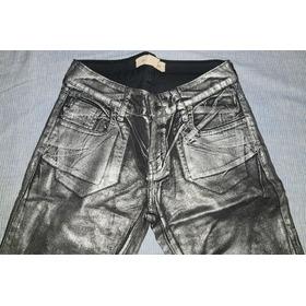 Pantalón Metalizado Ecocuero 27 Paula Cahen Danvers ! Nuevo!