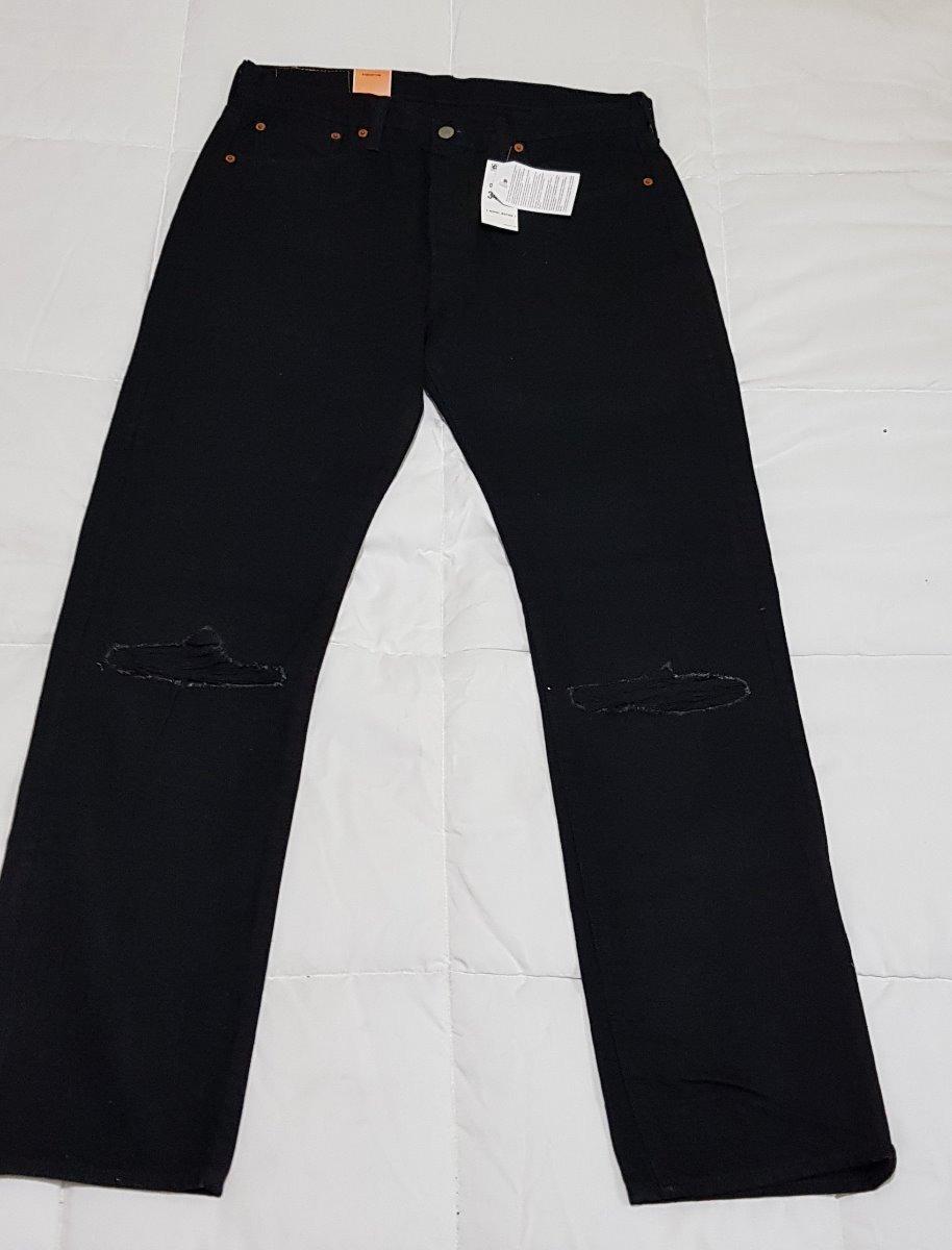 cc41dd01e4 Pantalon Mezclilla Levis 501 34x32 Color Negro -   799.00 en Mercado ...
