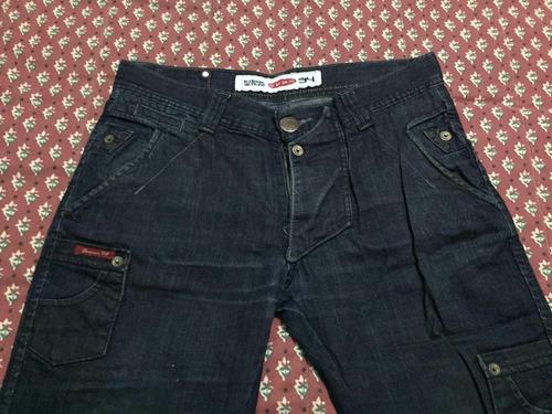 pantalon mezclilla unn bay 34x32
