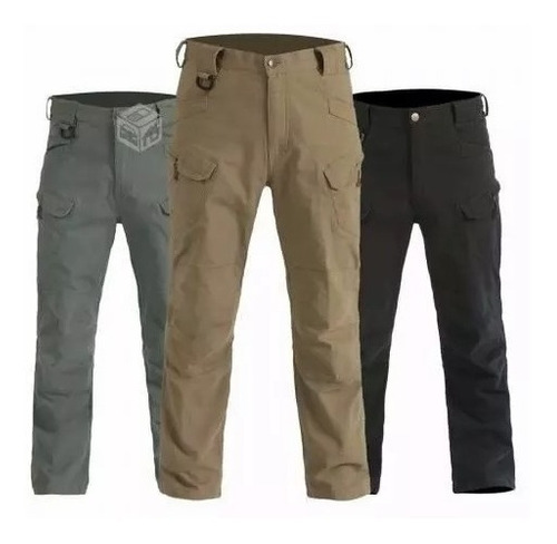 pantalon militar tactico/urbano ripstop - repelente al agua