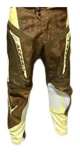 pantalon motocross acerbis mx motoscba