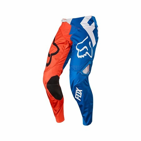 pantalon motocross fox head 360 creo naranja azul