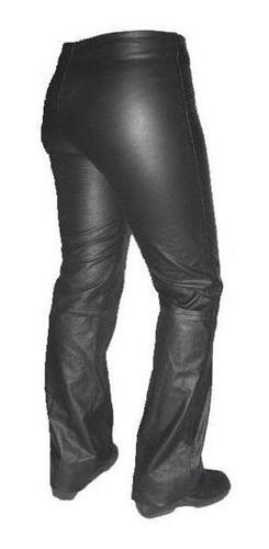 pantalón mujer 100% en cuero.