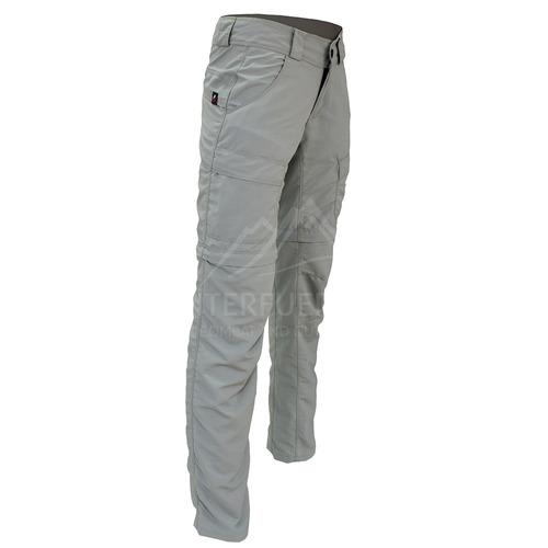 pantalon mujer cargo trekking desmontable secado rapido