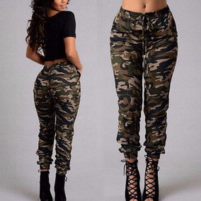 en venta de317 5d96e Pantalon Mujer Casual Camuflado