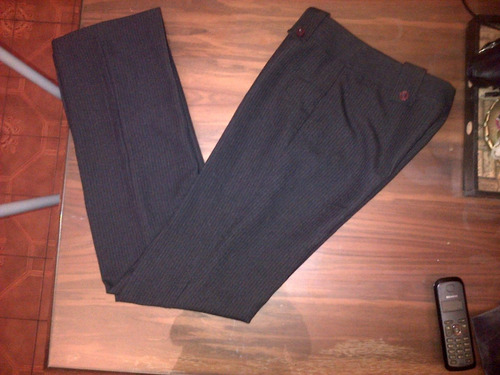 pantalon mujer de vestir semioxfrord  n.m.d original