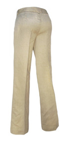 Drill Pantalon Mujer Beige Color Talla 8 East5th DIW29HE