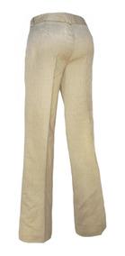 East5th 8 Mujer Pantalon Beige Talla Color Drill 5L3qjA4R