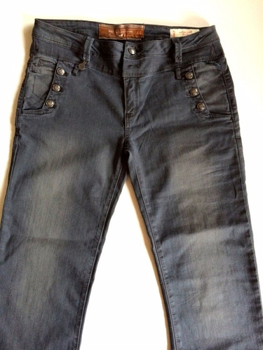 pantalon mujer jeans rkf rockford gris talla 44