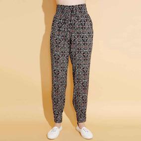 f56146e7f3ea Pantalon Mujer-mujer Holly Land Color Marino/blanco Nm880 A