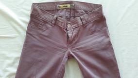 Mujer Mujer FinaColor Pantalón FinaColor Tela Mujer Pantalón Tela Pantalón Lila Tela FinaColor Lila Ifvbm76Ygy