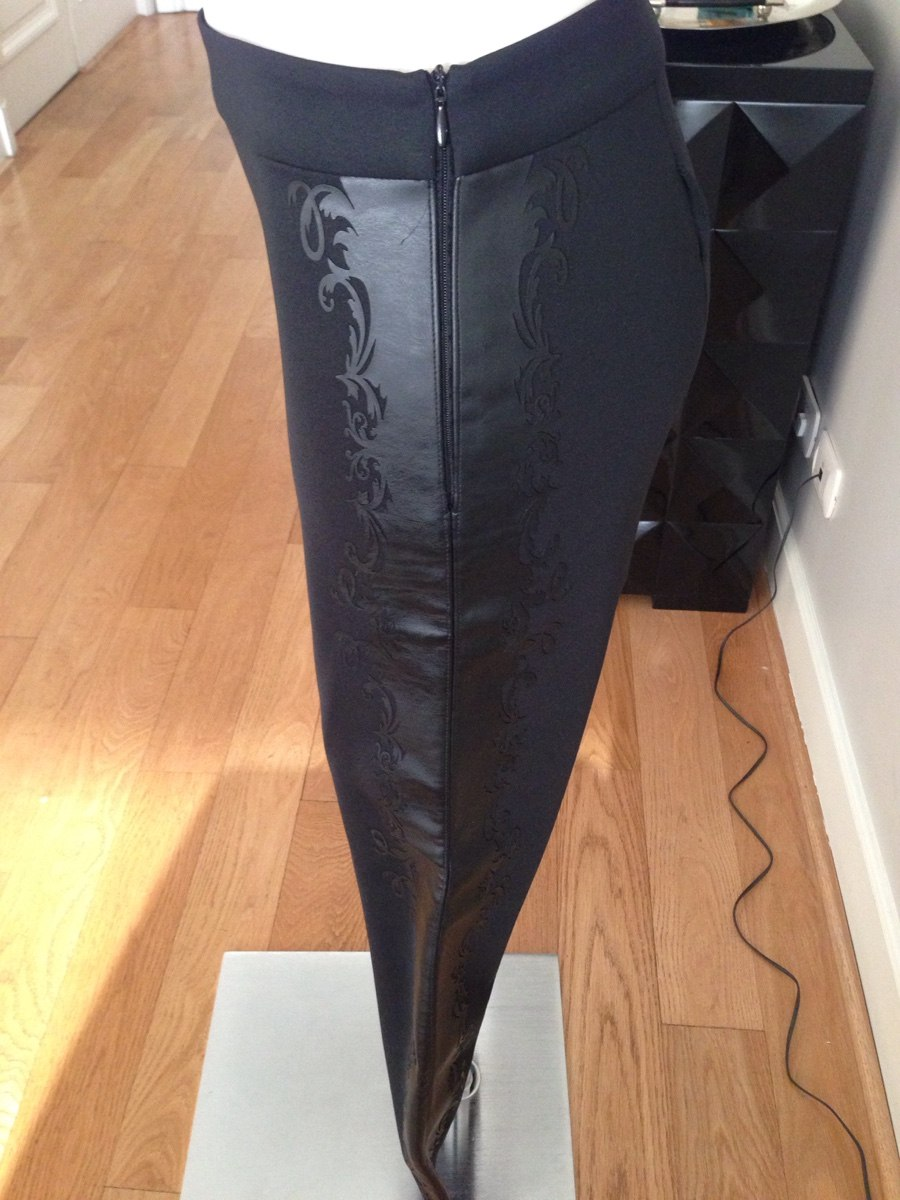 Pantalon Tipo Calza Mujer Zara De Usa. Lycra Y Cuero. S -   700 33b6aa3356c