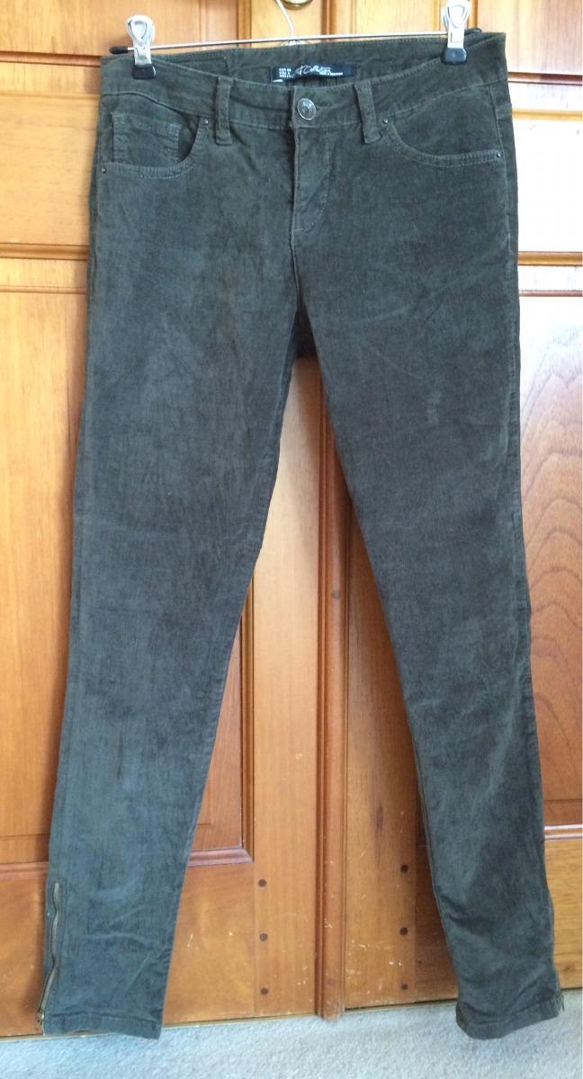 zara Cargando pantalón chupin pana zoom elastizado mujer vwq58 b546f0b4925e
