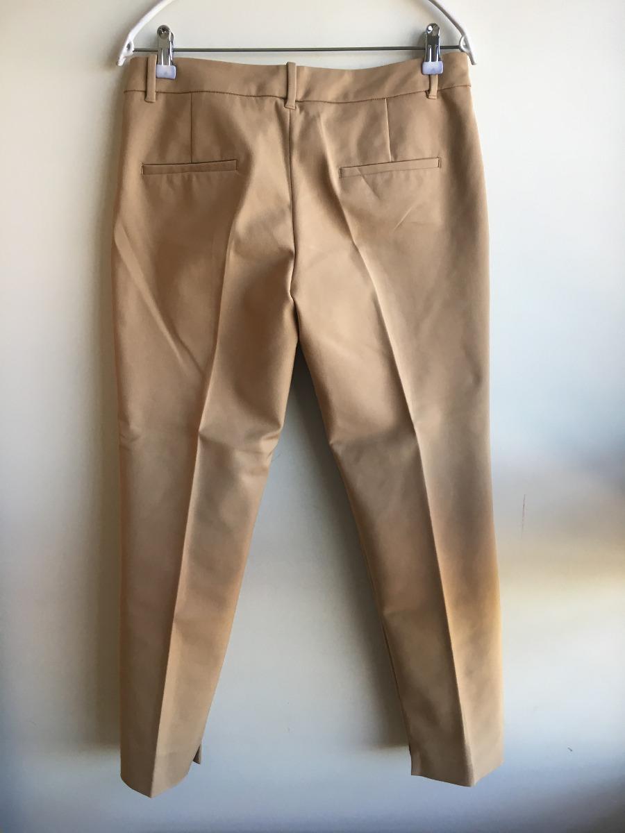 pantalon camel zara
