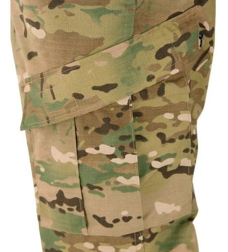 pantalon multicam tactico corte acu americano rip stop cargo