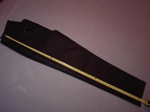 pantalón negro cuerina - talle 38