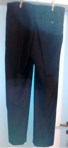pantalon negro de vestir de hombre, talle 48, se uso una vez
