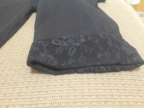 pantalon negro pescador