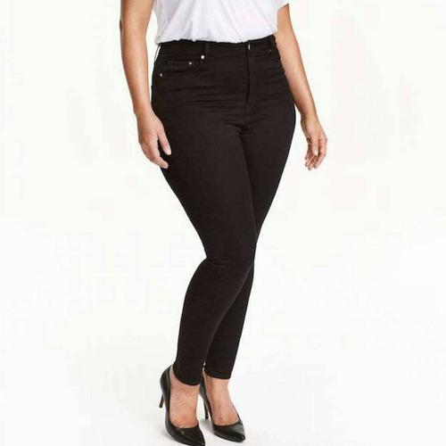 pantalon negro tallas grandes plus 19 20 22