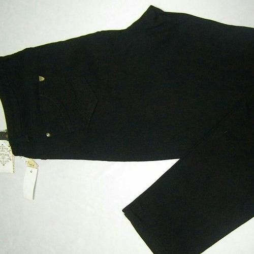 pantalon negro tallas grandes plus 19  - 21  - 23 -  25