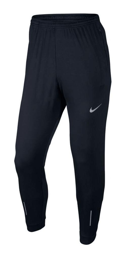 Pantalón Nike Essential Knit Running Negro Hombre