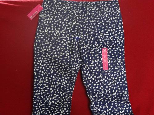 pantalon niña c/ bolsas t-14 años mca.725 originals* nuevo!